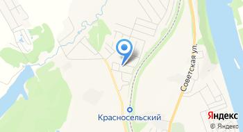 Радужный, Конно-спортивный клуб на карте