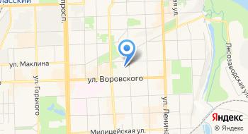 Жешартский ЛПК на карте