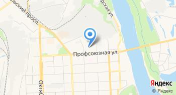 Уса Лес на карте