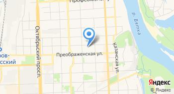 Министерство лесного хозяйства Кировской области на карте