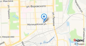 Центр по исполнению административного законодательства УМВД России по г. Кирову на карте