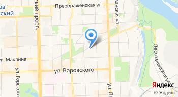 Территориальный орган Федеральной службы государственной статистики по Кировской области на карте