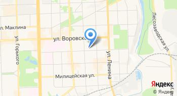 Фитнес-клуб Авангард на карте