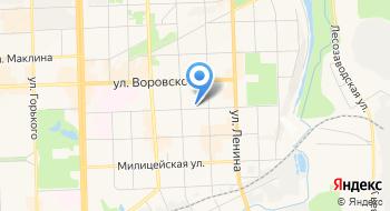 Кировский областной центр охраны окружающей среды и природопользования на карте
