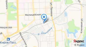 Интернет-магазин Farfor-kirov.ru на карте
