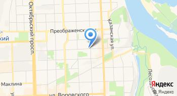 Магазин-ателье Диана на карте