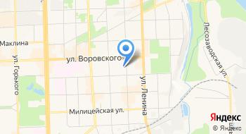 Отделение почтовой связи Киров 610002 на карте