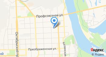 Отделение УФМС России по Кировской области в Первомайском районе г. Кирова на карте