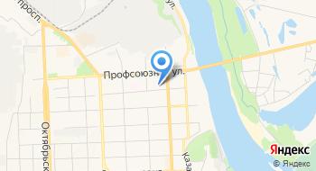 Лесной отдел министерства лесного хозяйства Кировской области Паркового лесничества, Обособленное структурное подразделение на карте