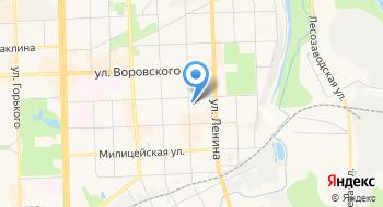 Некоммерческое партнерство Кировский территориальный институт профессиональных бухгалтеров и аудиторов на карте