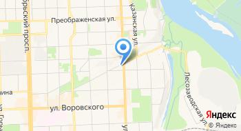 Автосервис на Горбачева на карте