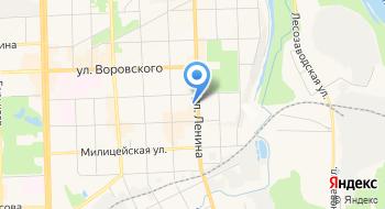 Автошкола Вятского государственного университета на карте