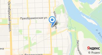 КОГАУК Театр на Спасской на карте