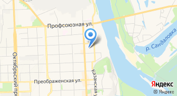 КОГОАУ Кировский экономико-правовой лицей на карте