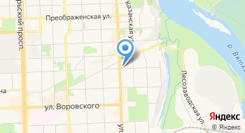 Банк Хлынов, отделение на карте