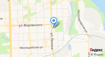 Банкомат терминал АО КБ Хлынов на карте