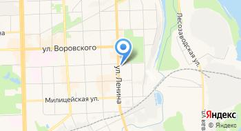 Московский финансово-юридический университет, Кировский филиал на карте