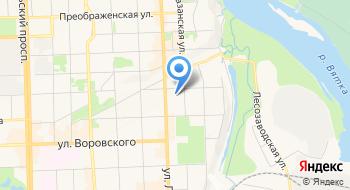 УМВД России по Кировской области на карте