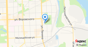 Участники лесной сертификации Кировской области, Некоммерческое партнерство на карте