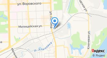Кировавтоком на карте