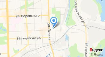 Межшкольный учебный комбинат № 4 г. Кирова Мбоу на карте