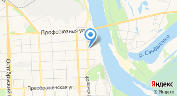 Территориальное управление Администрации города Кирова по Первомайскому району на карте