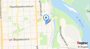 Центр дополнительного образования ВятГГУ на карте