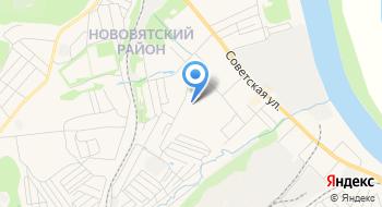 Отделение УФМС России по Кировской области в Нововятском районе г. Кирова на карте