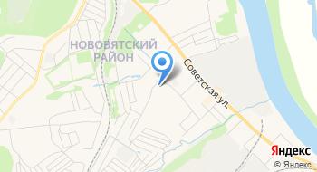 Отдел трудоустройства Нововятского района КОГКУ центр занятости населения города Кирова на карте
