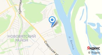 Кировская Городская больница № 2 на карте