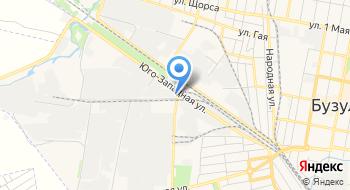 Управление механизации, ИП Бажуткин А.В. на карте