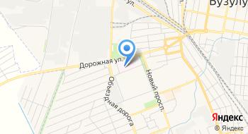 Городская больница № 1 на карте