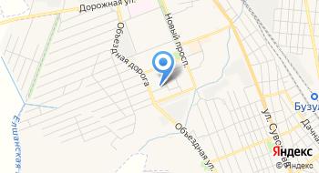 Отделение почтовой связи Бузулук 461050 на карте
