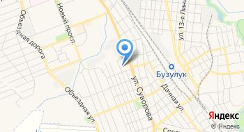 ИМНС №2 по г.Бузулуку (городская) на карте