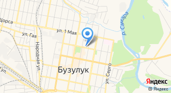 Газпром межрегионгаз, абонентский участок в г. Бузулук на карте