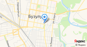 Государственное бюджетное учреждение социального обслуживания Оренбургской области Социально-реабилитационный центр для несовершеннолетних Радуга в городе Бузулуке на карте