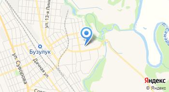 Отделение почтовой связи Бузулук 461047 на карте
