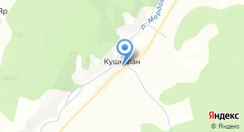 Башкортостан, КФХ на карте
