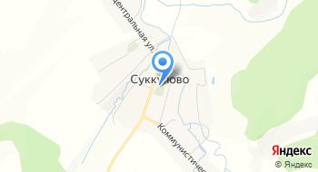 Суккуловское на карте