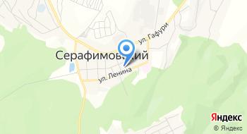 СОШ №1 с. Серафимовский на карте