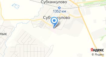 Субханкуловская районная больница №3, МБУЗ Туймазинская ЦРБ на карте