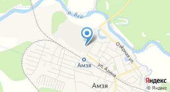 Амзинский лесокомбинат на карте