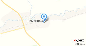 СОШ д. Романовка на карте