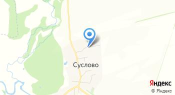 Сельские дом культуры с. Суслово на карте