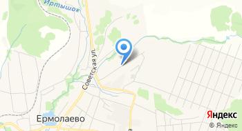 Газпром газораспределение Уфа, филиал в г. Кумертау, Ермолаевская комплексная служба на карте