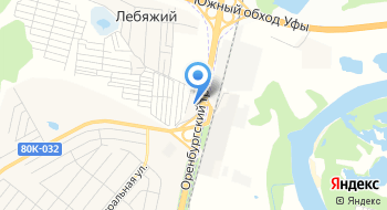 КИА Центр Уфа Зубово на карте
