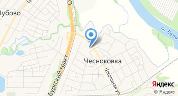 Башзнак на карте