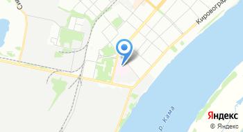 Медико-санитарная часть №133 Пермского клинического центра Федерального медико-биологического агентства на карте