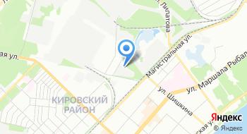 Кировский РЭС Пермских Городских Электрических Сетей на карте