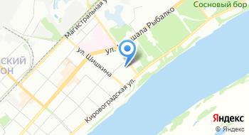 Волго-Уральский спортивный дом ДЮМФС на карте
